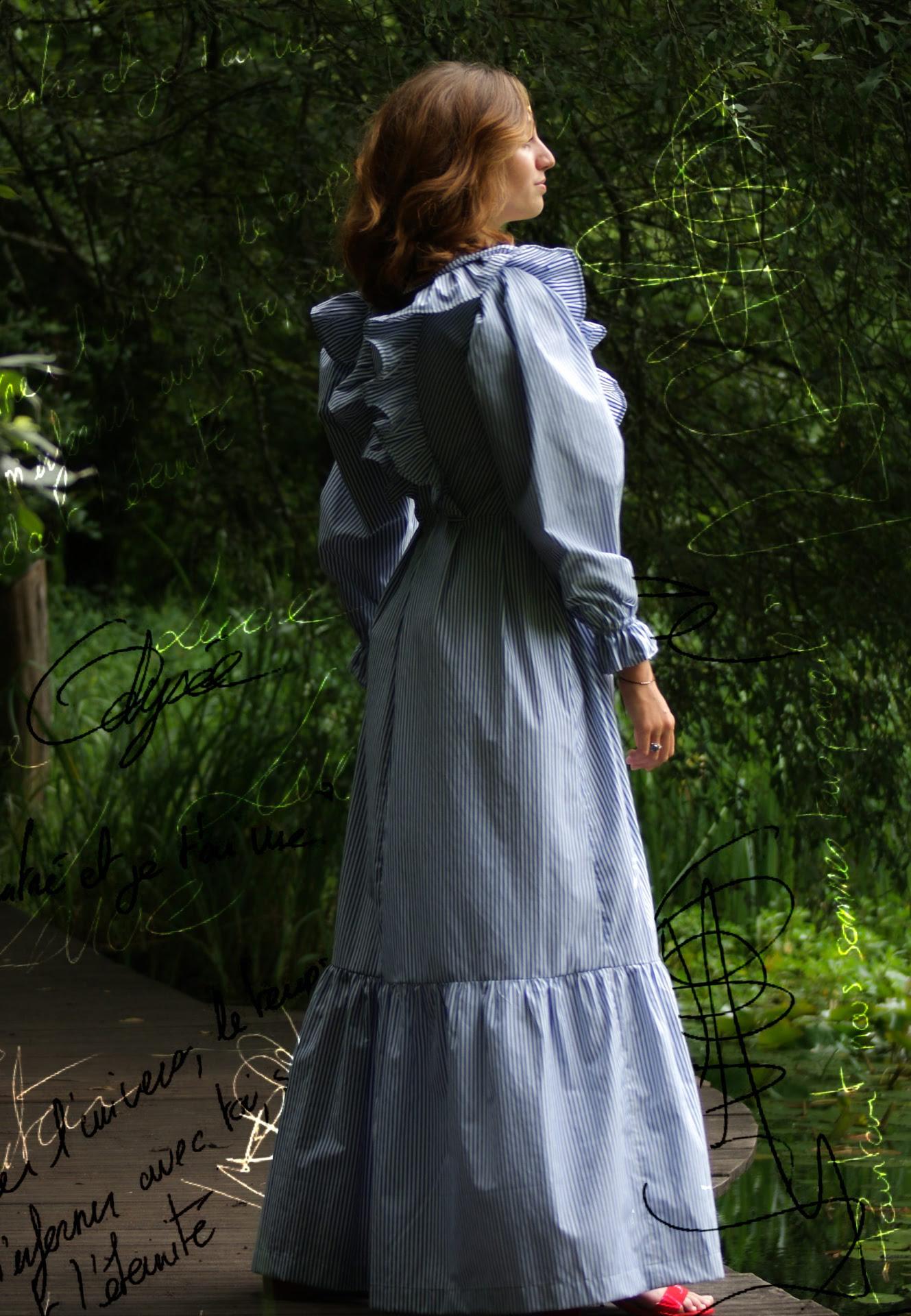 fabricartem robe longue dos